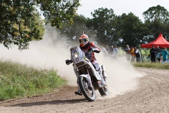 Mani Gyenes continuă Dakar-ul datorită fanilor argentinieni