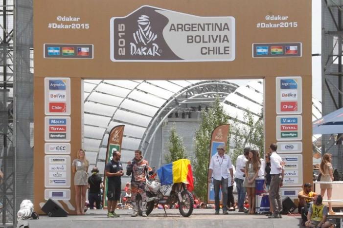 """Sătmăreanul Mani Gyenes, regele clasei """"Maraton"""" la Dakar 2015, revine în România"""