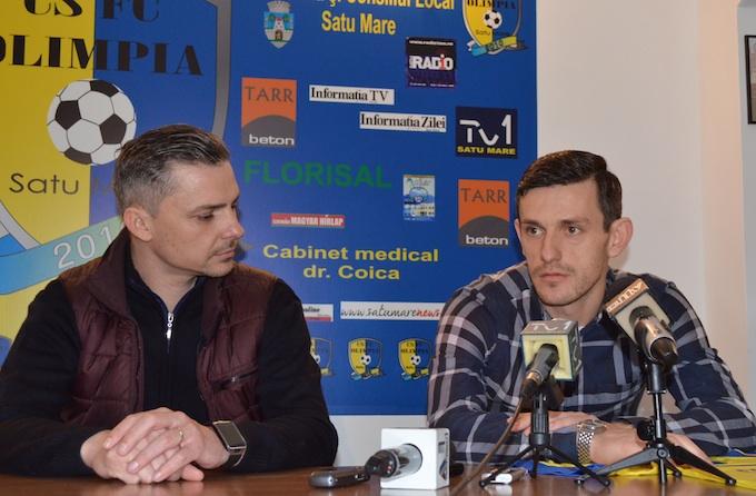 Adrian Sălăgeanu se întoarce la Olimpia Satu Mare