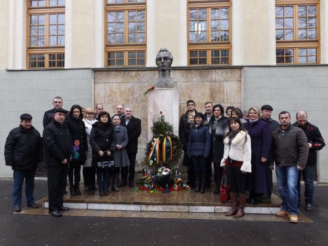Liberalii sătmăreni l-au omagiat azi pe Mihai Eminescu