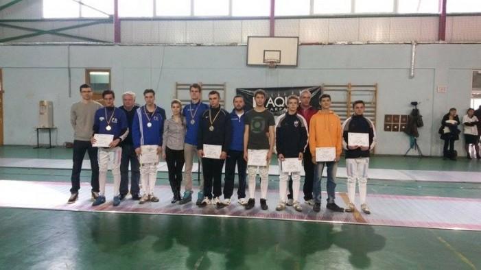 Sătmăreanul Adam Macska, medalia de aur la Campionatul Național de spadă juniori