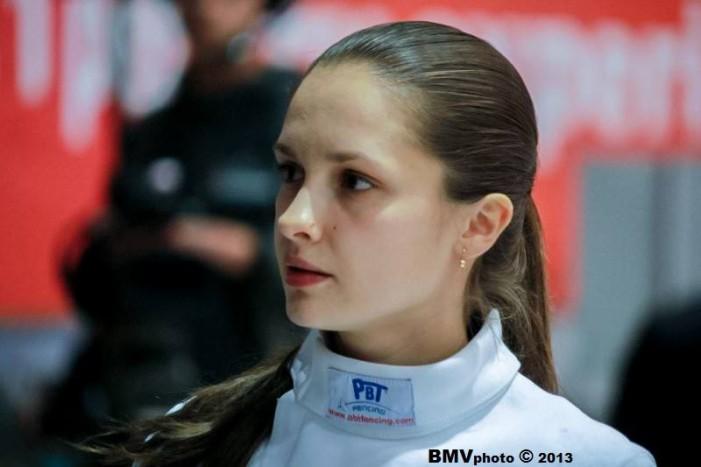 Spadasina Simona Pop se pregătește pentru etapa de Cupă Mondială de la Barcelona