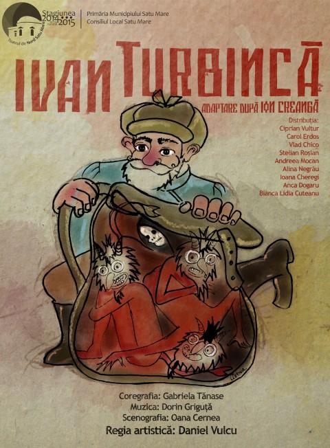 Ivan Turbincă, pe scena Casei de Cultură a Sindicatelor Satu Mare