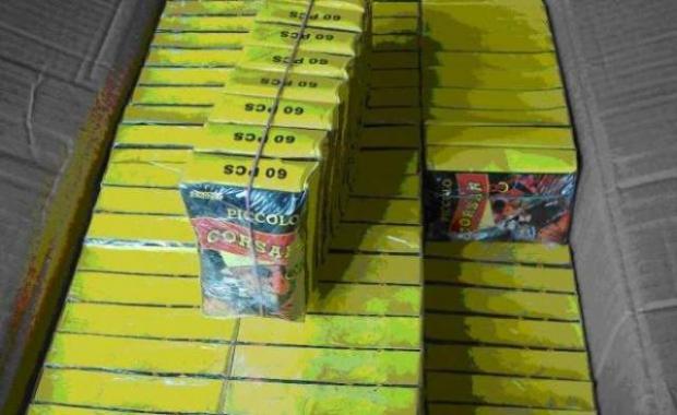 Peste 10.000 de petarde confiscate de polițiștii sătmăreni