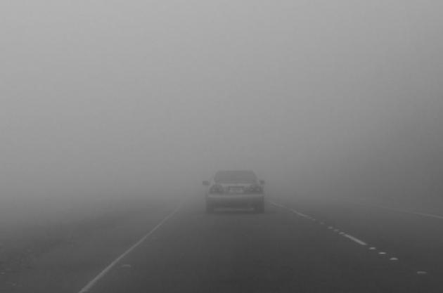 Ceață densă în județul Satu Mare