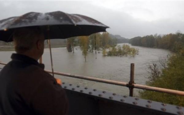 Cod galben de inundații pe râul Tur