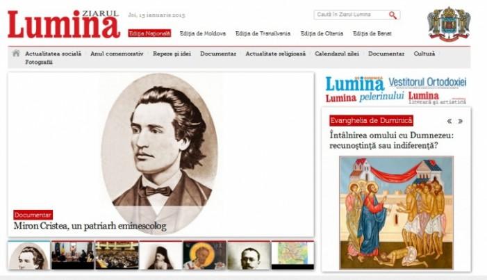 """Site-ul """"Ziarul Lumina"""", care aparţine BOR, spart de hackeri islamişti"""