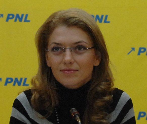 Co-președintele PNL, Alina Gorghiu, vine la Satu Mare