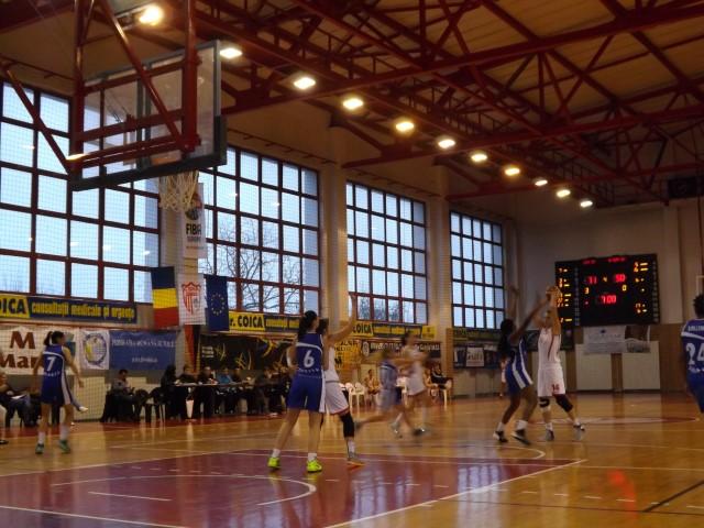 Baschet: CSM Satu Mare-Universitatea CSM Oradea 83-64