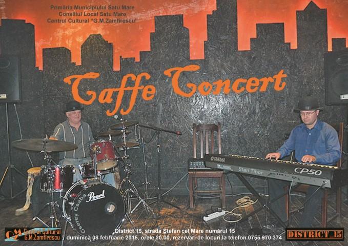 Caffe Concert cu Stan Tibor și Cserey Csaba