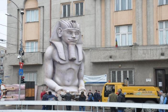 """Crâmpeie din """"Egiptul faraonilor"""", la Muzeul Județean Satu Mare"""