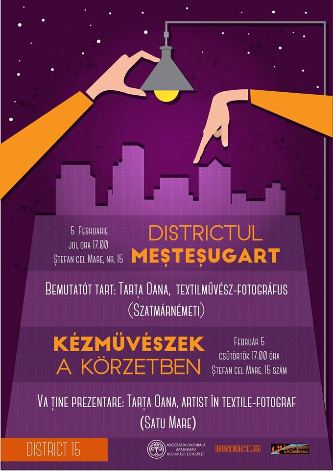 MeşteşugArt cu Oana Tarța, la District 15