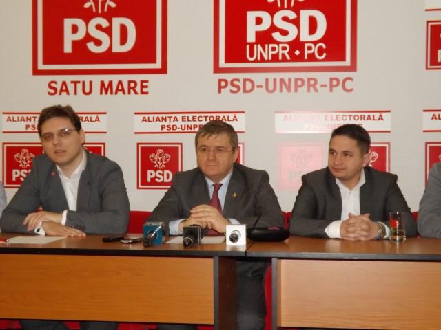 Cabinet europarlamentar în sediul PSD Satu Mare