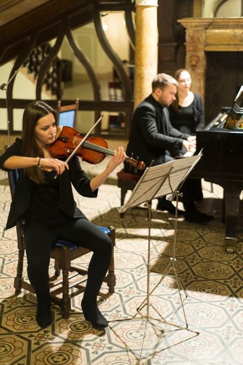Recital de muzică clasică la Castelul Karolyi din Carei