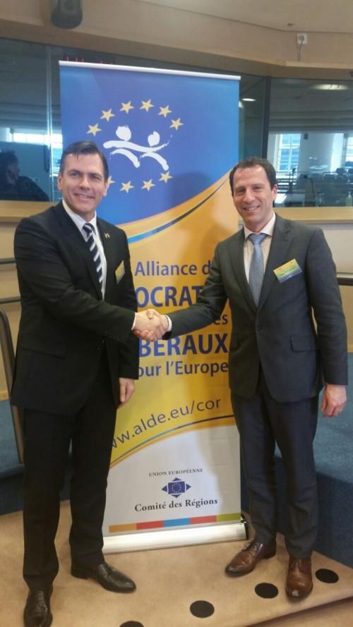 Adrian Ștef, participă la ședința Comitetului Regiunilor din cadrul ALDE