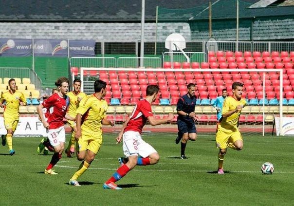 Sătmăreanul Tony Kanaloș a adus victoria pentru România, în meciul cu Silkeborg U18