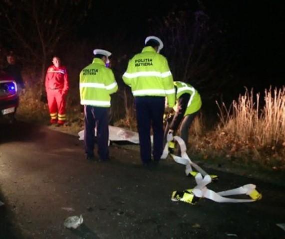 Accident mortal în afara localității Petea