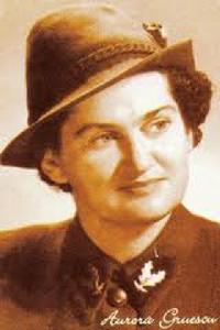 Aurora Gruescu, prima femeie silvicultor din lume