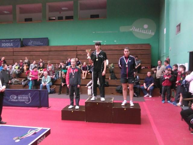Tenis de masă: Careianca Dari Helga, medaliată cu argint în Ungaria