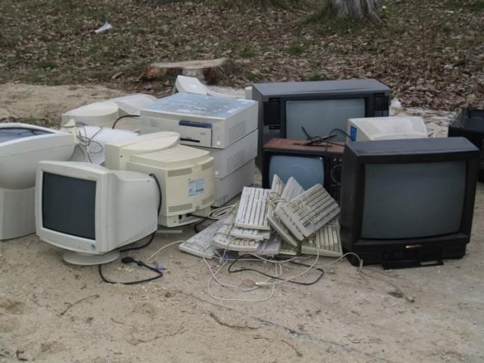 Acțiune de colectare a deșeurilor electrice și electronice în Turulung