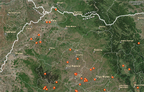"""Patru sate din județul Satu Mare, pe harta localităților """"Fantomă"""" din România"""