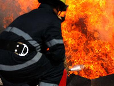 Casă distrusă de flăcări în localitatea Corod