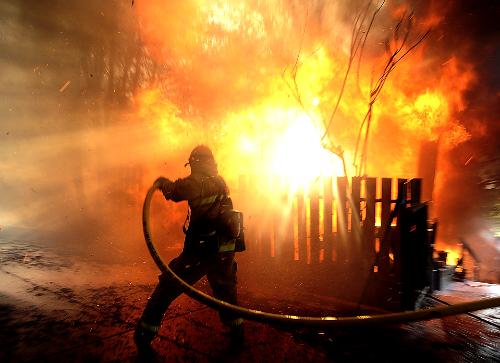 Incendiu în Moișeni