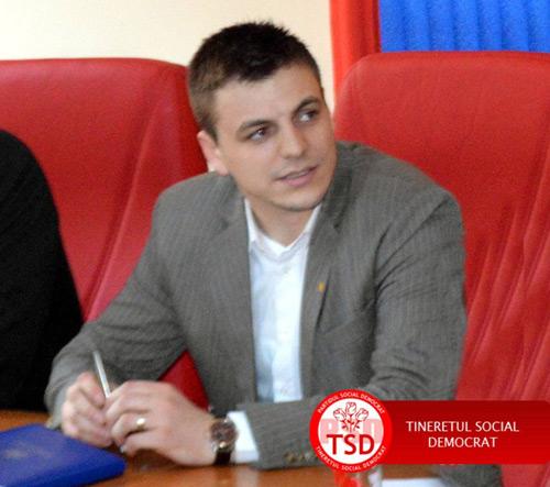 Raul Băbțan a fost ales secretar executiv al TSD
