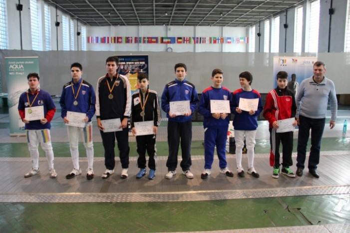 Medalii de bronz pentru CS Satu Mare la Campionatul Național de floretă cadeți