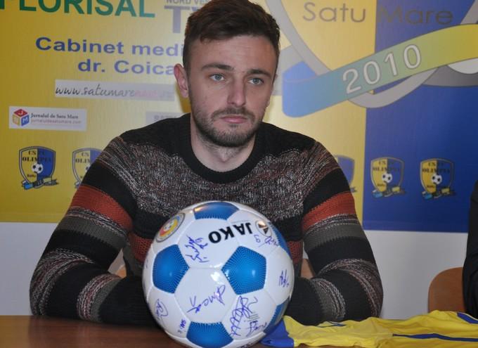 Ciprian Selagea și Adrian Mărkuș, prezentați oficial de conducerea FC Olimpia Satu Mare