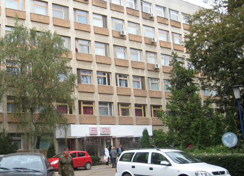 Încep lucrările la intrarea principală în Spitalul Județean Satu Mare