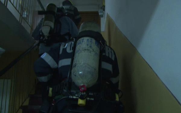Un sătmărean și-a dat foc la apartament