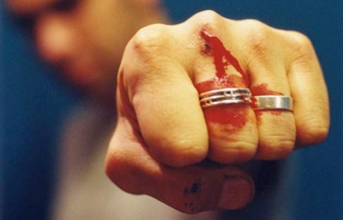 Bărbat bătut în Târșolț