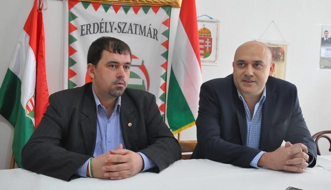 După un an de interdicție, liderul Jobbik Szavay Istvan, a venit la Satu Mare