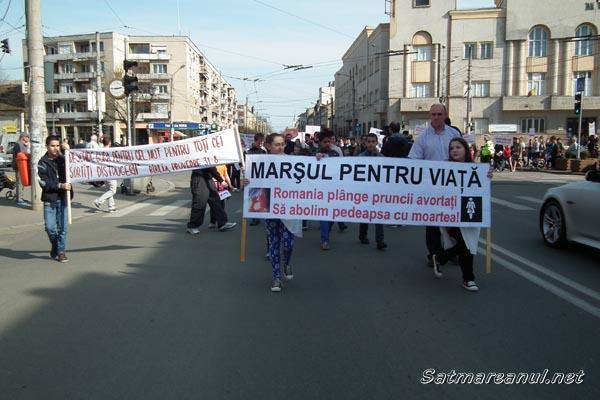 """""""Marșul pentru viață"""", la a V-a ediție"""
