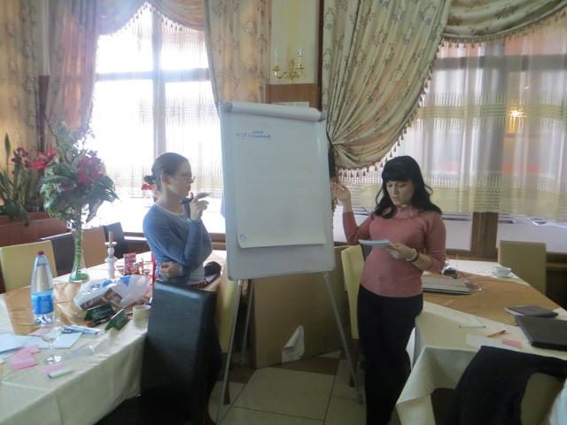 """Angajații și voluntarii Asociației """"Stea"""", învățați cum să atragă fonduri pentru dezvoltarea proiectelor"""