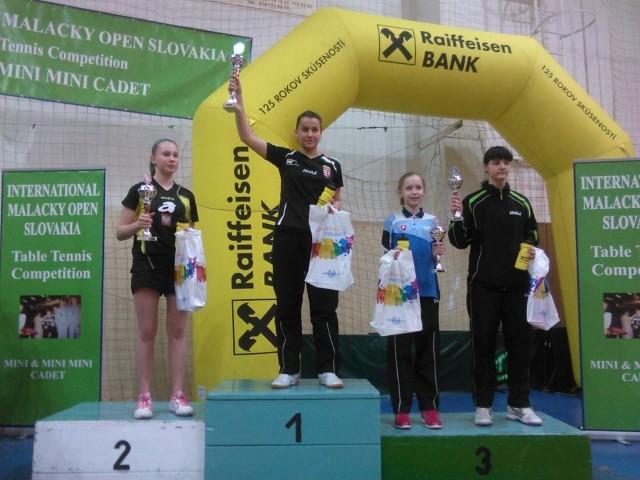 Tenis de masă: Careianca Dari Helga, medalie de aur la turneul din Slovacia