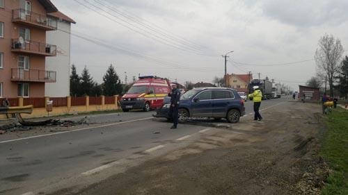 Accident cu doi răniți în Dorolț (Foto&Video)