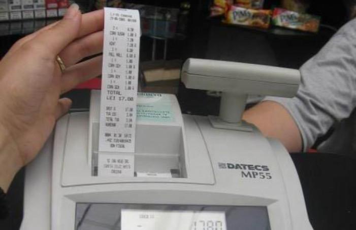 Fiscul va penaliza firmele care dau clienţilor alte documente decât bonul fiscal