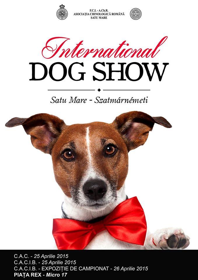 """""""International Dog Show"""" Satu Mare, la o nouă ediție"""