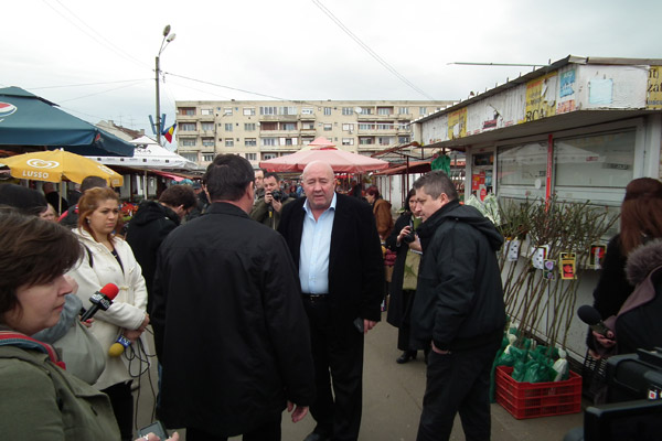 """Dorel Coica: """"Nu mai vreau să văd în piețe banane din Stâna și citrice din Cehal"""""""