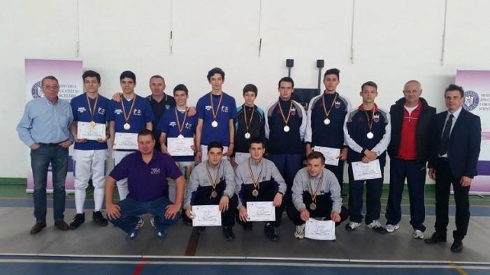 Echipa CS Satu Mare, medalie de argint la Campionatul Național de floretă pentru tineret