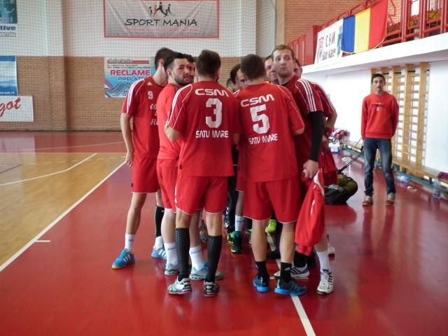 Handbal: HCM Sighișoara-CSM Satu Mare 34-31
