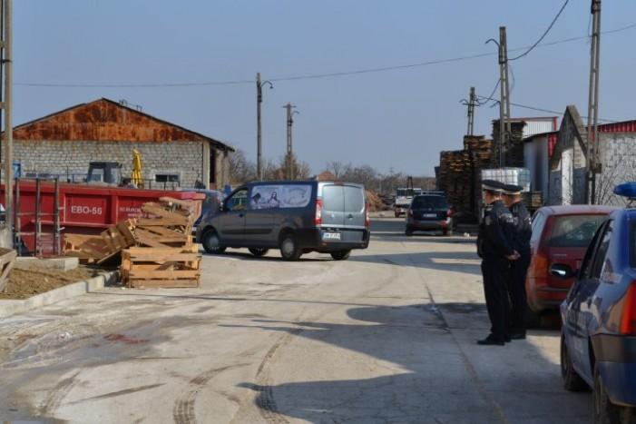 Tragedie în Odoreu. Muncitor ucis de un palet de două tone