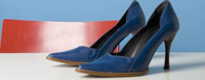 Sătmăreancă prinsă la furat de pantofi