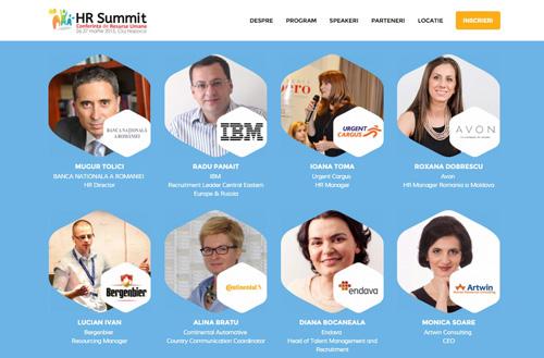 De la recrutare, la managementul talentelor si ultimele tendinte in resurse umane, la HR Summit Cluj Napoca