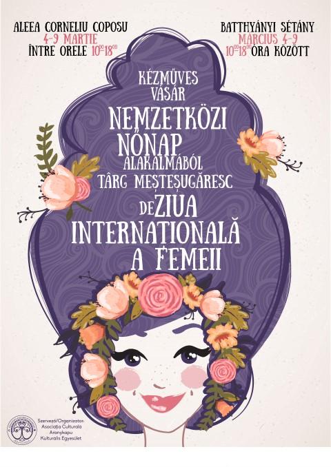 """Târg meșteșugăresc organizat de """"Ziua Internațională a Femeii"""""""