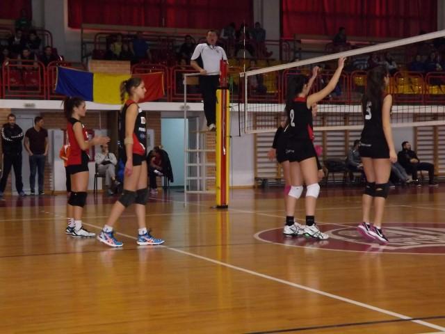Volei: CSM Satu Mare-CSS Bega Timișoara 3-0