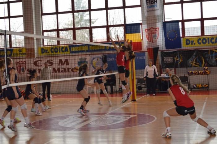 Volei: CSM Satu Mare-CSS Blaj 3-1 (Galerie foto)