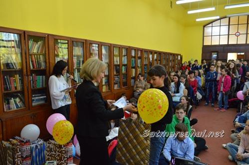 "Gala de premiere a Concursul literar ""Eu iubesc biblioteca"""